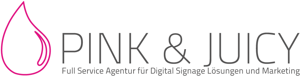 PINK & JUICY - Agentur für Digital Signage Lösungen und Marketing